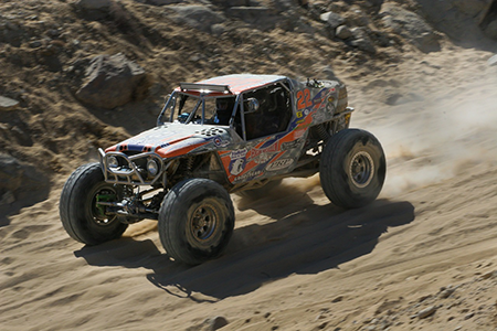 sand rail in the desert